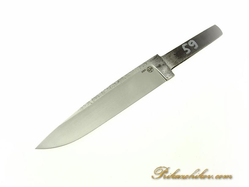 Клинок для ножа из кованой стали хв5 № 59