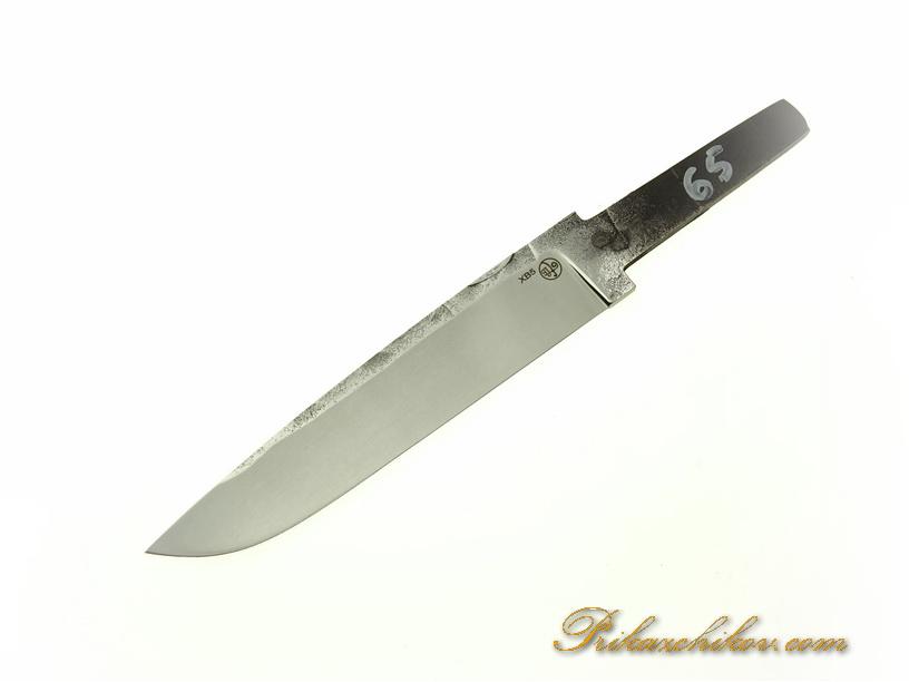 Клинок для ножа из кованой стали хв5 № 65