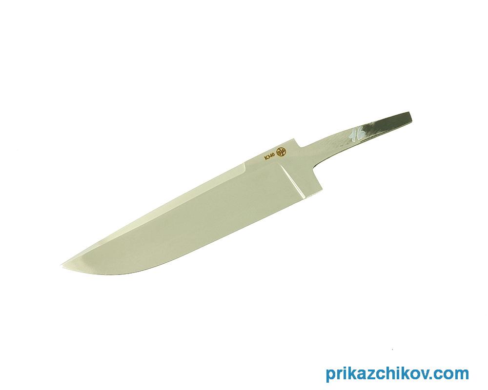 Клинок для ножа из стали Bohler K340 N16
