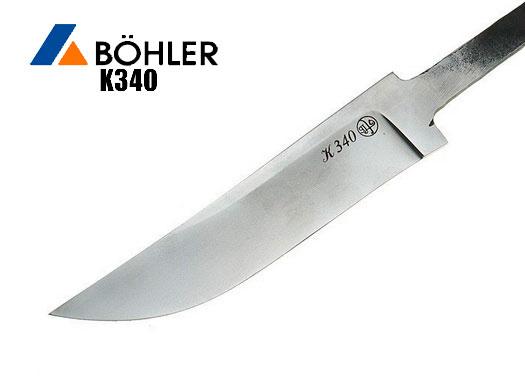Клинки из стали BOHLER K340