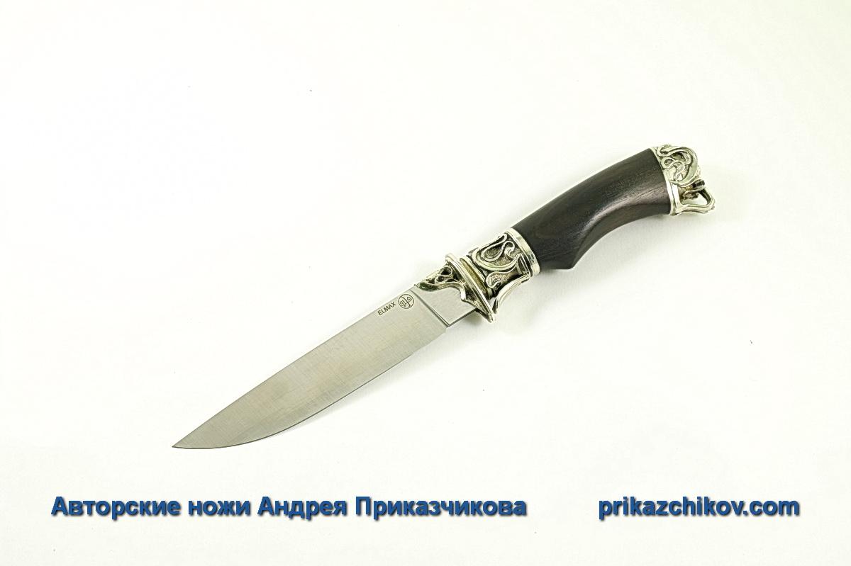 Авторский нож из стали Elmax «Андрей Первозванный» №8