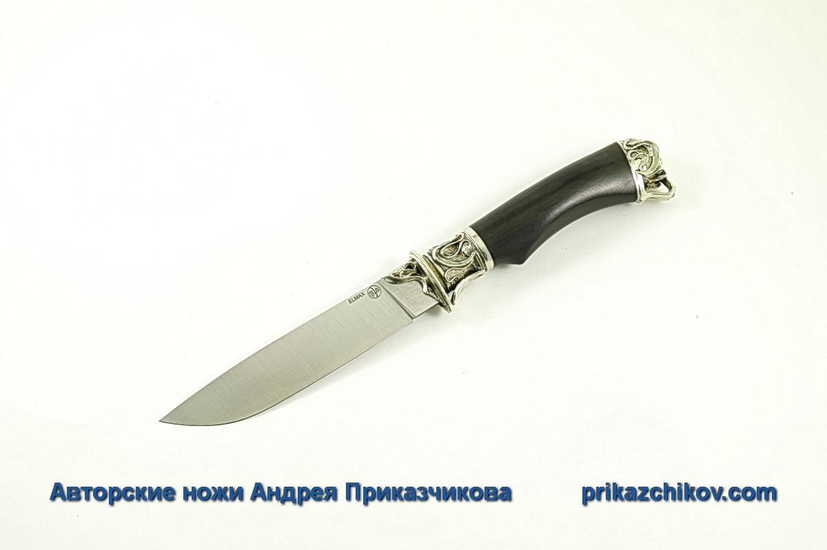 Авторский нож из стали Elmax «Андрей Первозванный» №12