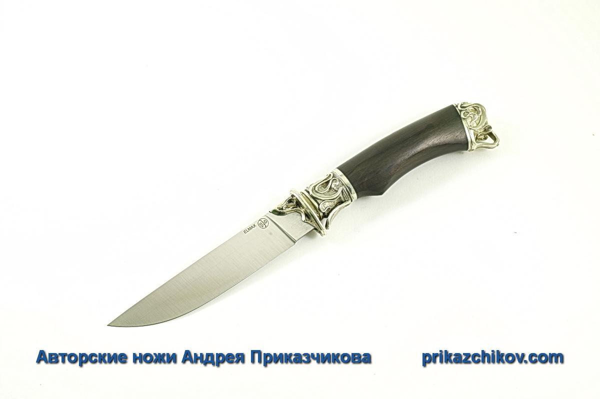 Авторский нож из стали Elmax «Андрей Первозванный» №13