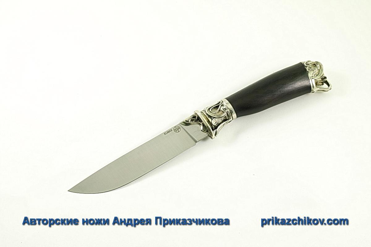 Авторский нож из стали Elmax «Андрей Первозванный» №4