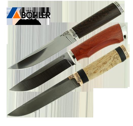 Новые ножи из кованой стали Bohler К110 поступили в продажу.