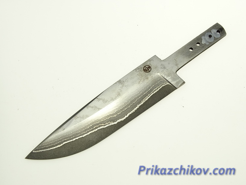 Клинок для ножа из ламинированной стали N 100