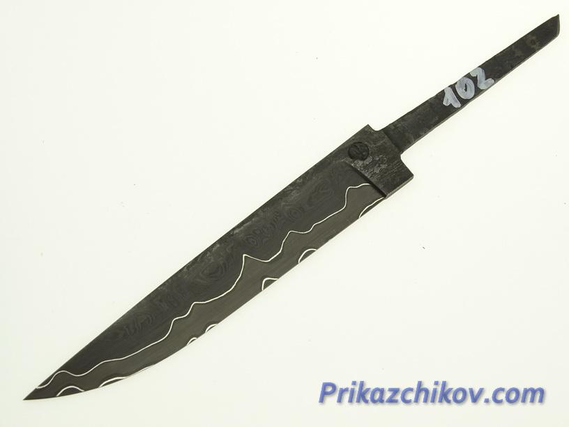 Клинок для ножа из ламинированной стали N 102