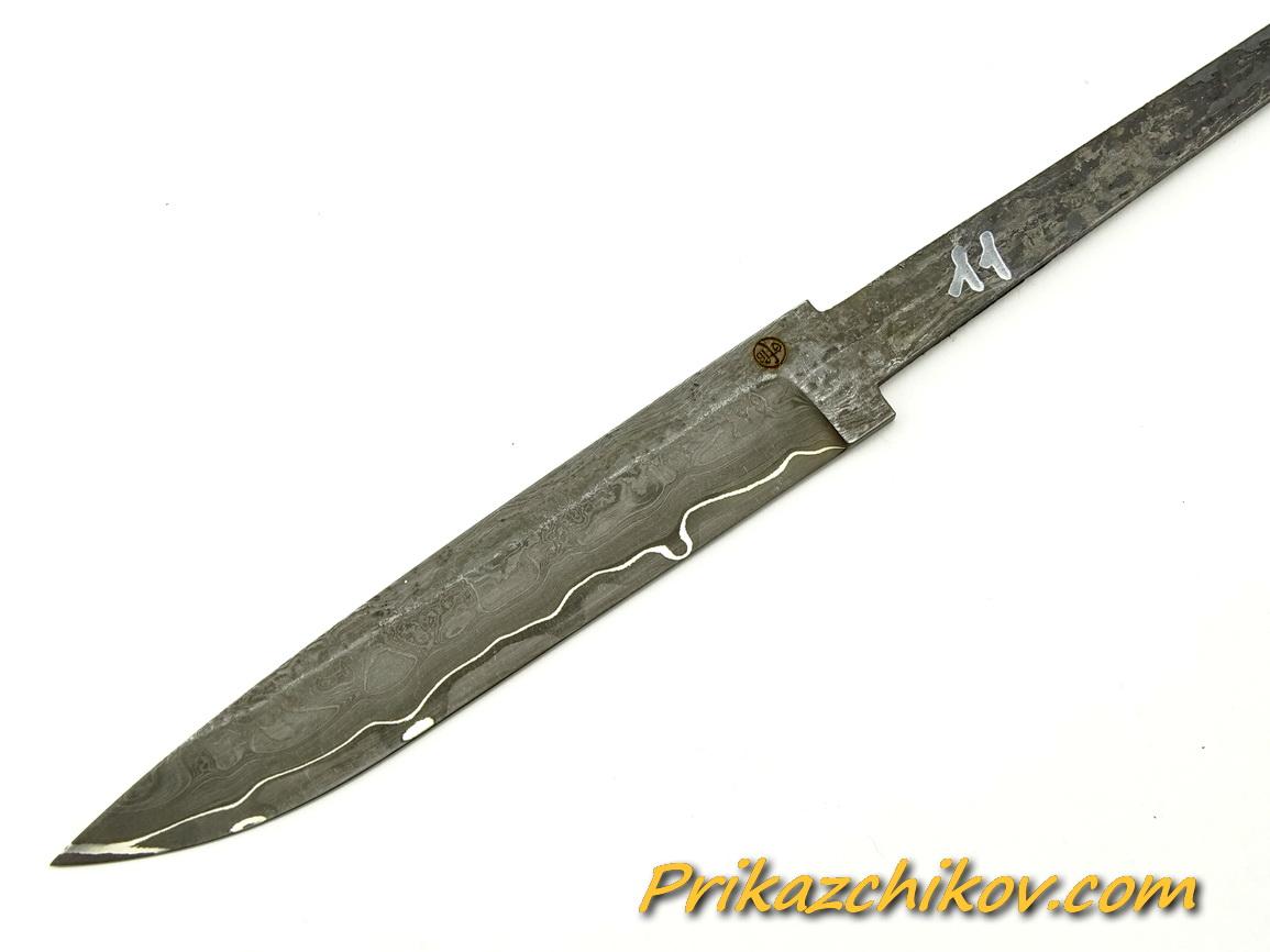 Клинок для ножа из ламинированной стали N 11