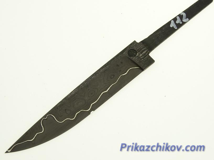 Клинок для ножа из ламинированной стали N 112
