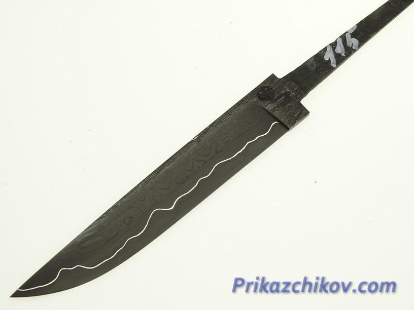 Клинок для ножа из ламинированной стали N 115