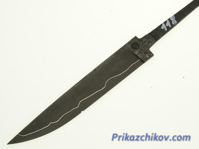 Клинок для ножа из ламинированной стали N 118