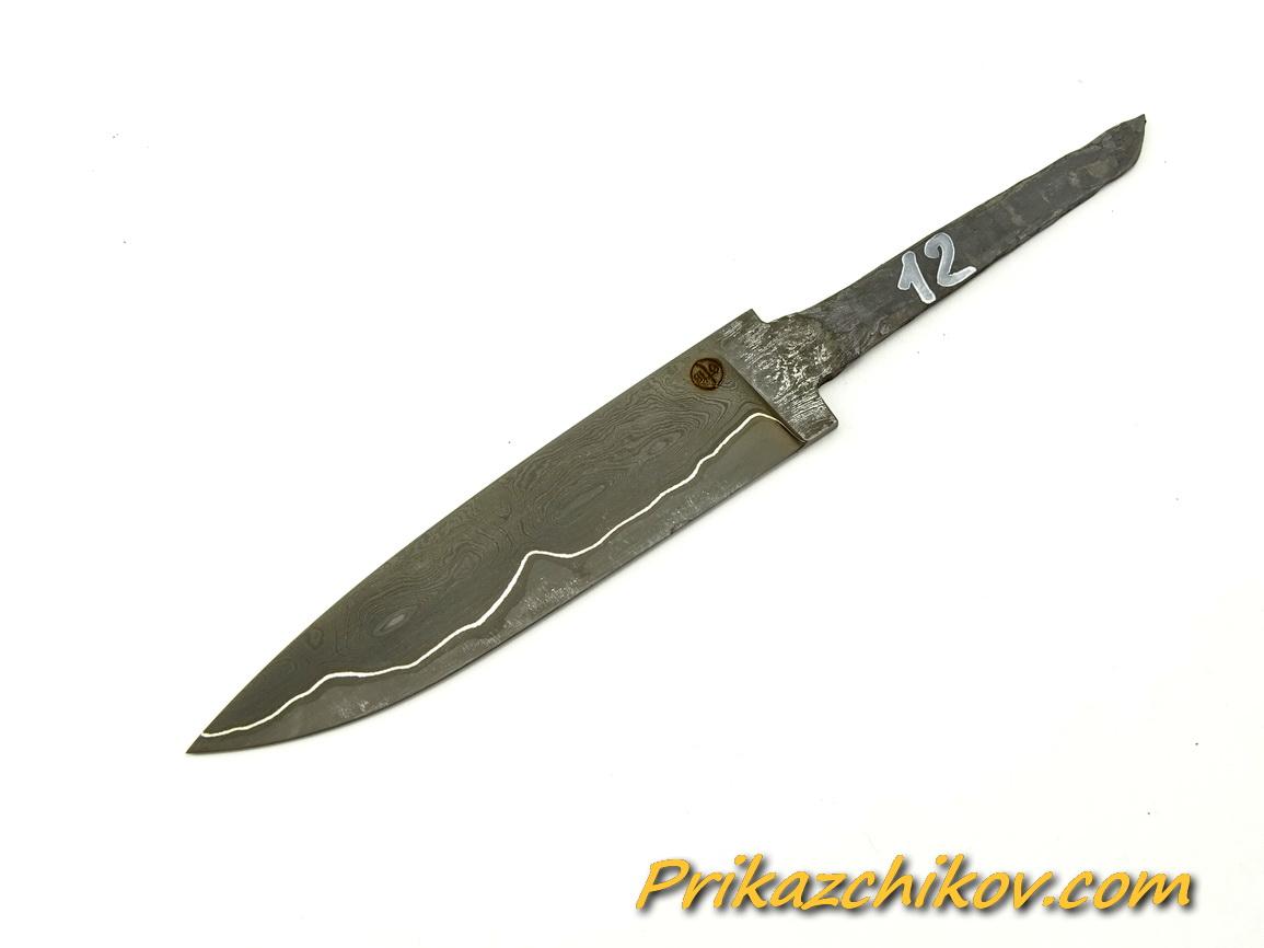 Клинок для ножа из ламинированной стали N 12