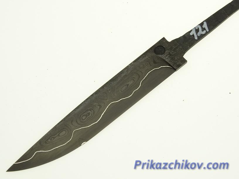 Клинок для ножа из ламинированной стали N 121