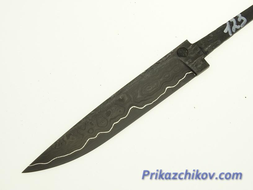 Клинок для ножа из ламинированной стали N 123