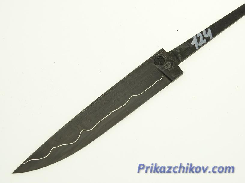 Клинок для ножа из ламинированной стали N 124