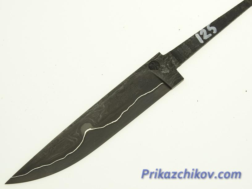 Клинок для ножа из ламинированной стали N 125