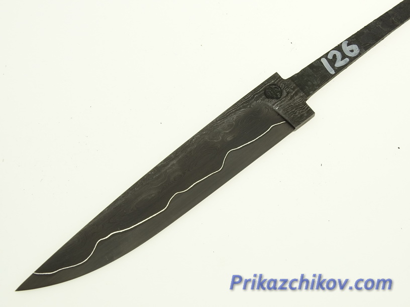 Клинок для ножа из ламинированной стали N 126