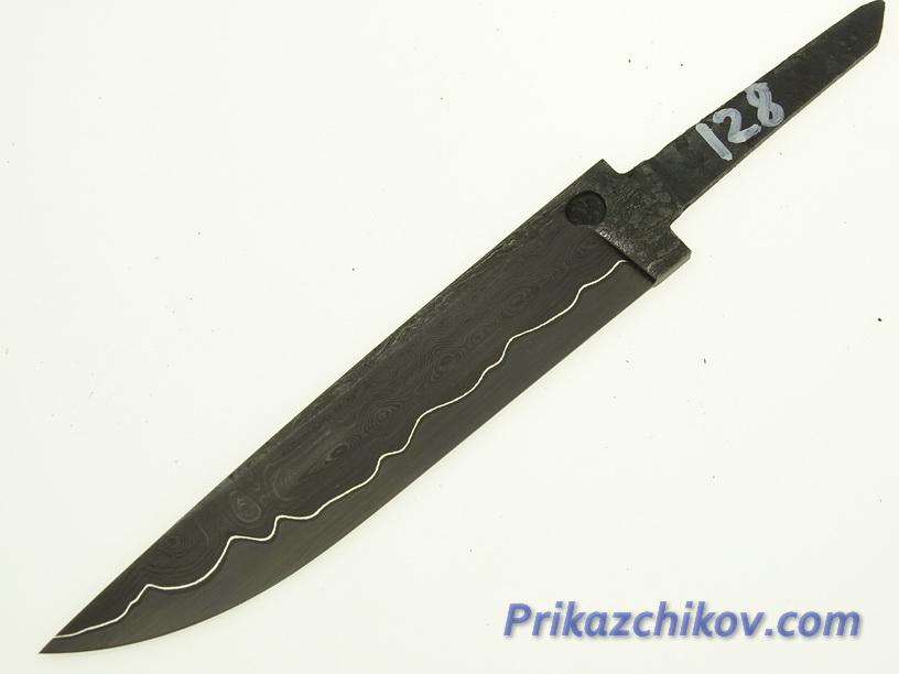 Клинок для ножа из ламинированной стали N 128