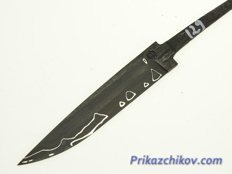 Клинок для ножа из ламинированной стали N 129