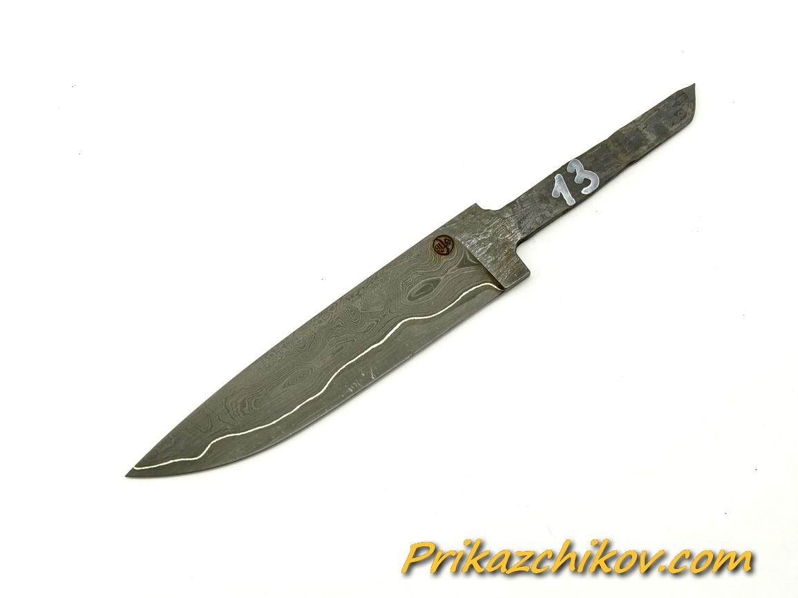 Клинок для ножа из ламинированной стали N 13