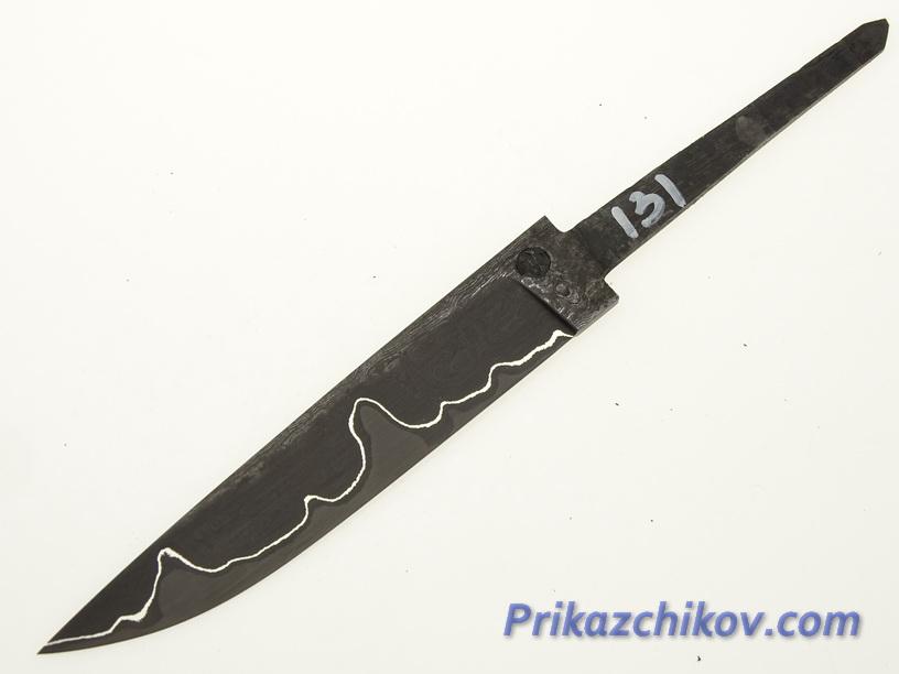 Клинок для ножа из ламинированной стали N 131