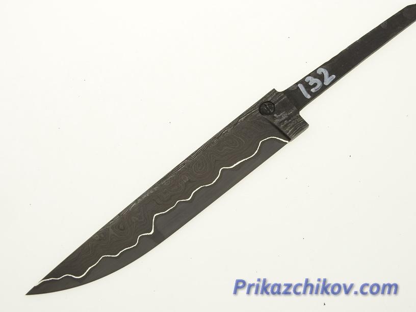 Клинок для ножа из ламинированной стали N 132