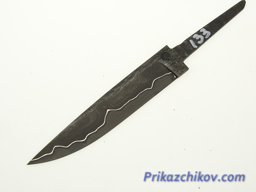 Клинок для ножа из ламинированной стали N 133