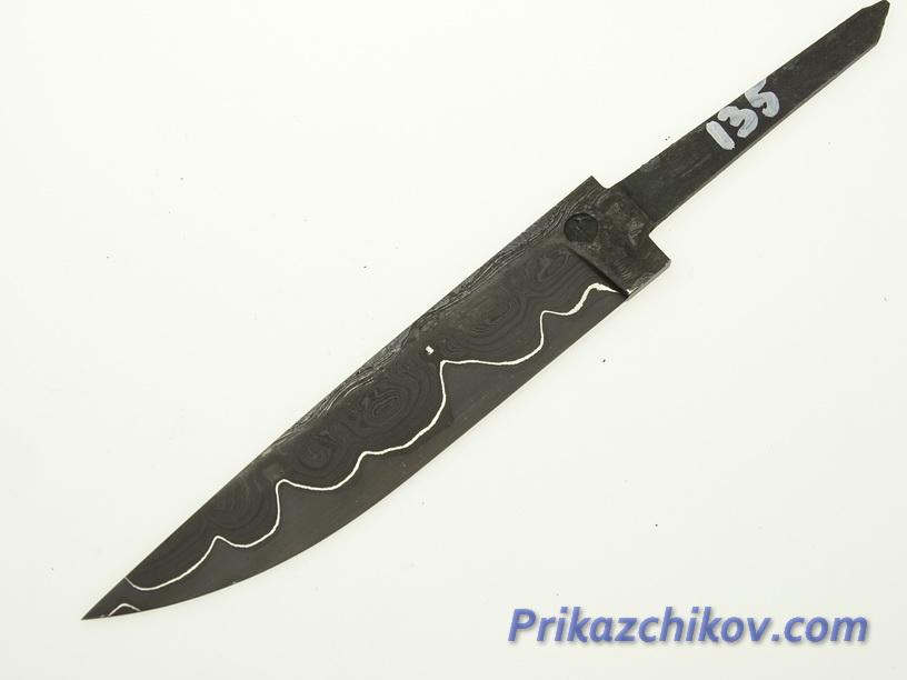 Клинок для ножа из ламинированной стали N 135