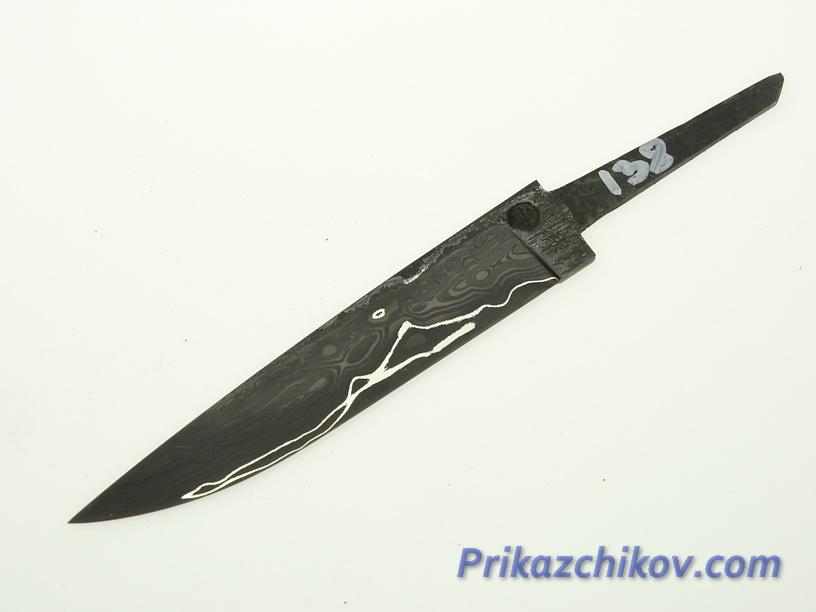 Клинок для ножа из ламинированной стали N 138