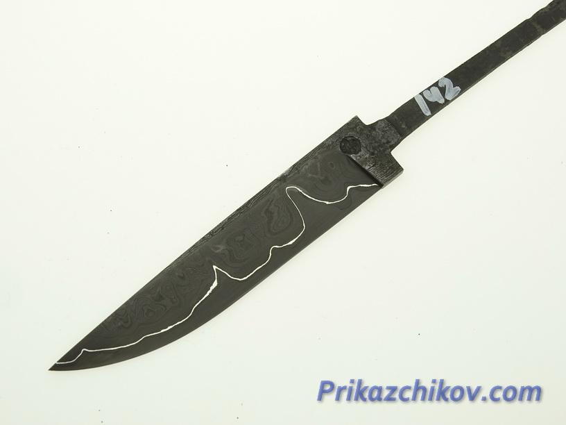 Клинок для ножа из ламинированной стали N 142