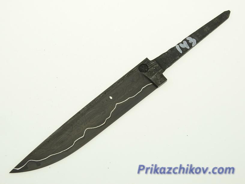 Клинок для ножа из ламинированной стали N 143