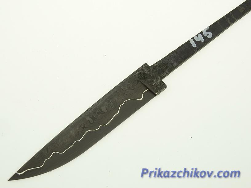 Клинок для ножа из ламинированной стали N 145