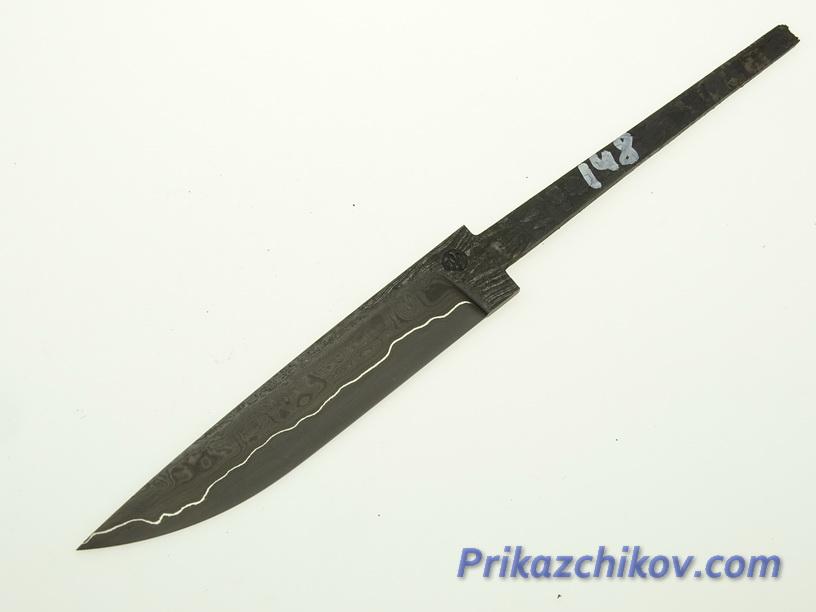 Клинок для ножа из ламинированной стали N 148