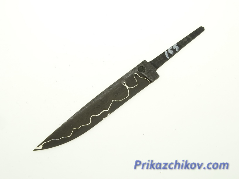 Клинок для ножа из ламинированной стали N 155