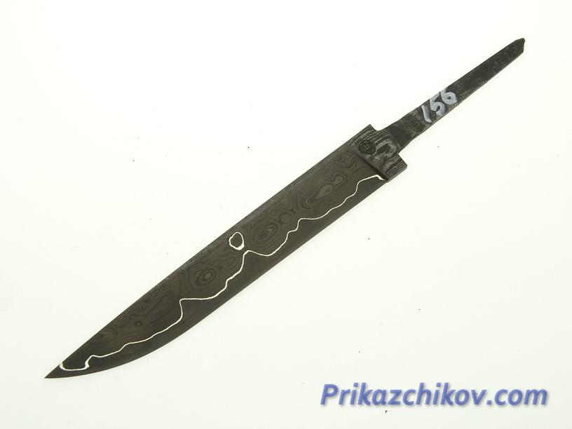 Клинок для ножа из ламинированной стали N 156