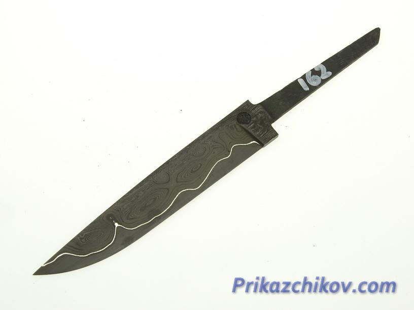 Клинок для ножа из ламинированной стали N 162
