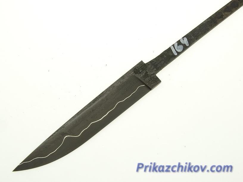 Клинок для ножа из ламинированной стали N 164