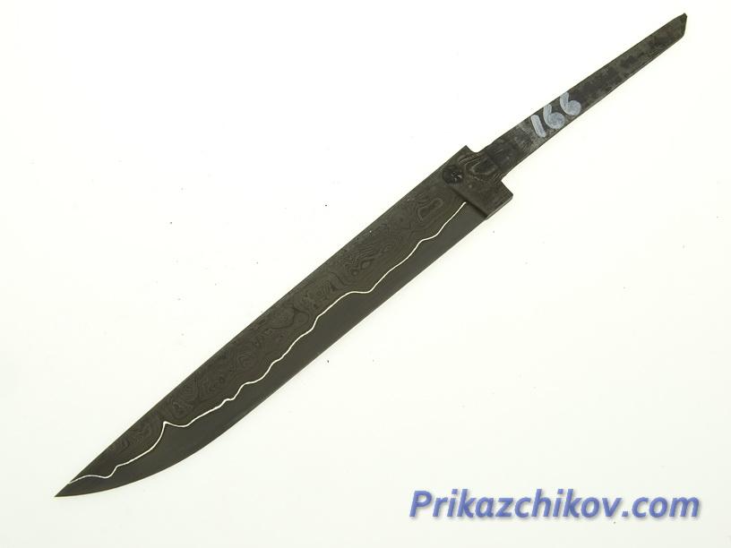Клинок для ножа из ламинированной стали N 166