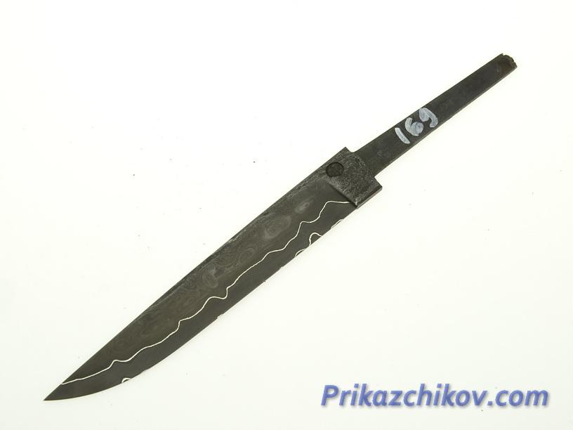 Клинок для ножа из ламинированной стали N 169