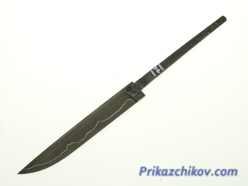 Клинок для ножа из ламинированной стали N 171