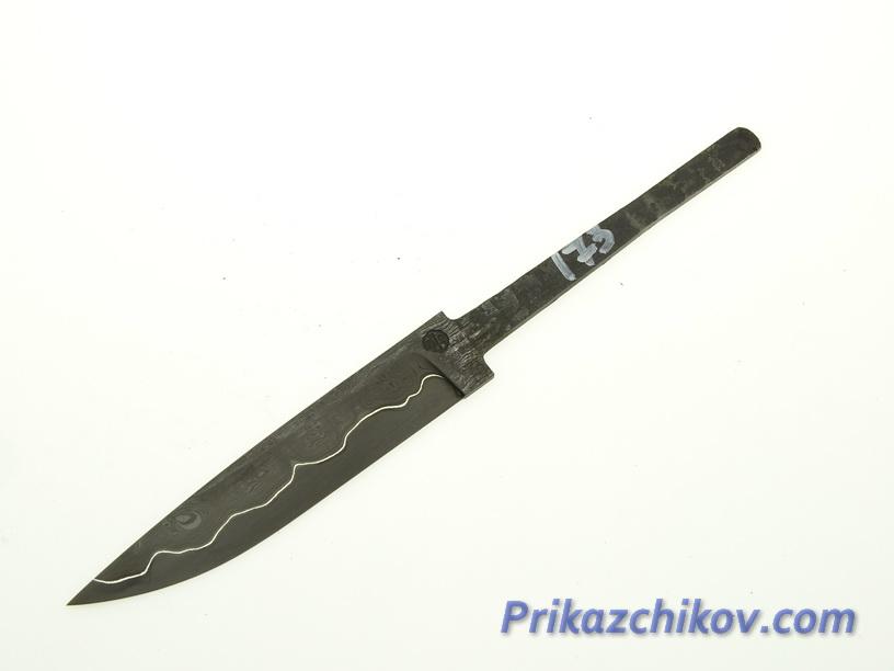 Клинок для ножа из ламинированной стали N 173