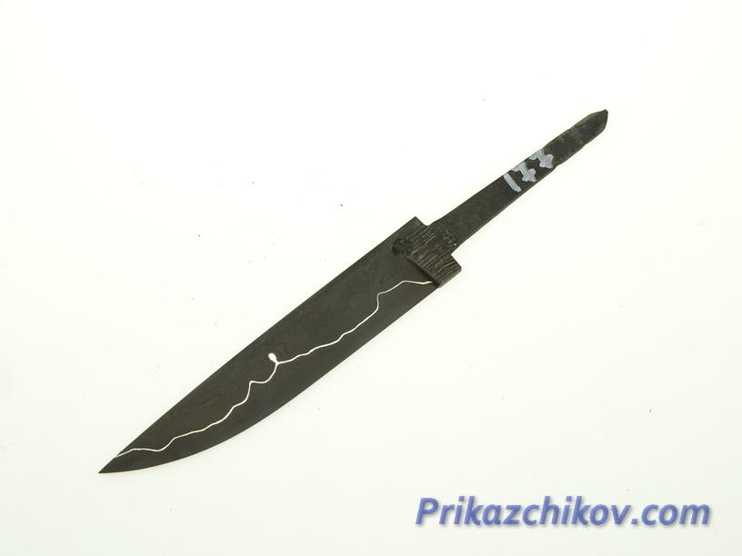 Клинок для ножа из ламинированной стали N 177