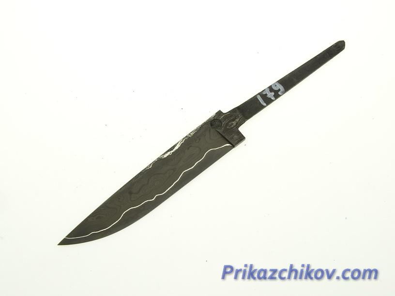 Клинок для ножа из ламинированной стали N 179