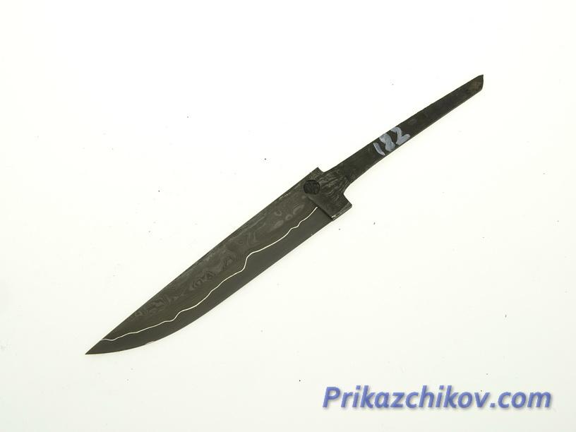 Клинок для ножа из ламинированной стали N 182
