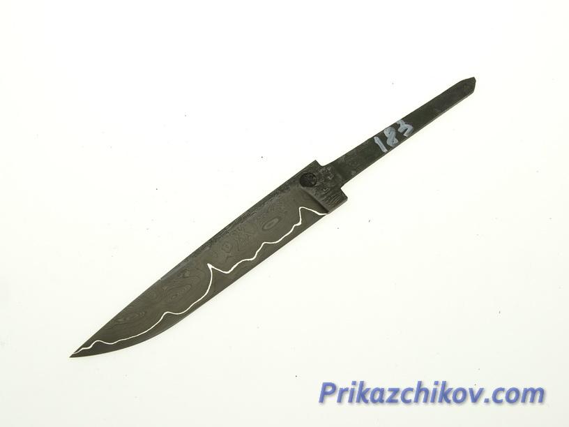 Клинок для ножа из ламинированной стали N 183
