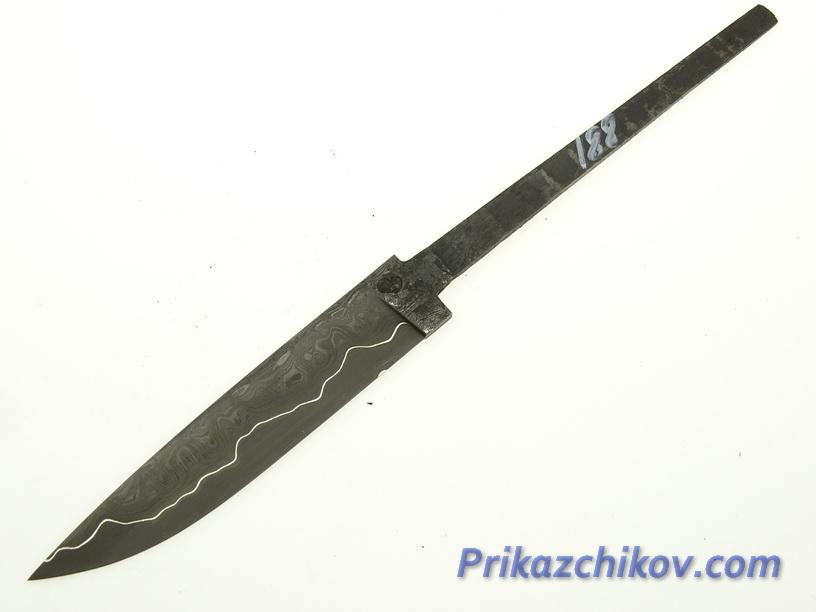 Клинок для ножа из ламинированной стали N 188