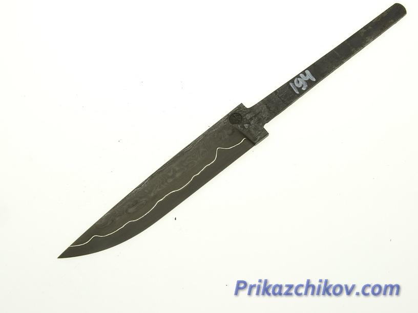 Клинок для ножа из ламинированной стали N 194