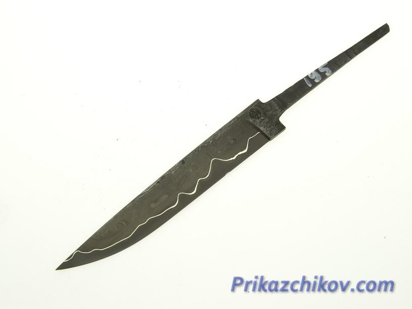 Клинок для ножа из ламинированной стали N 195