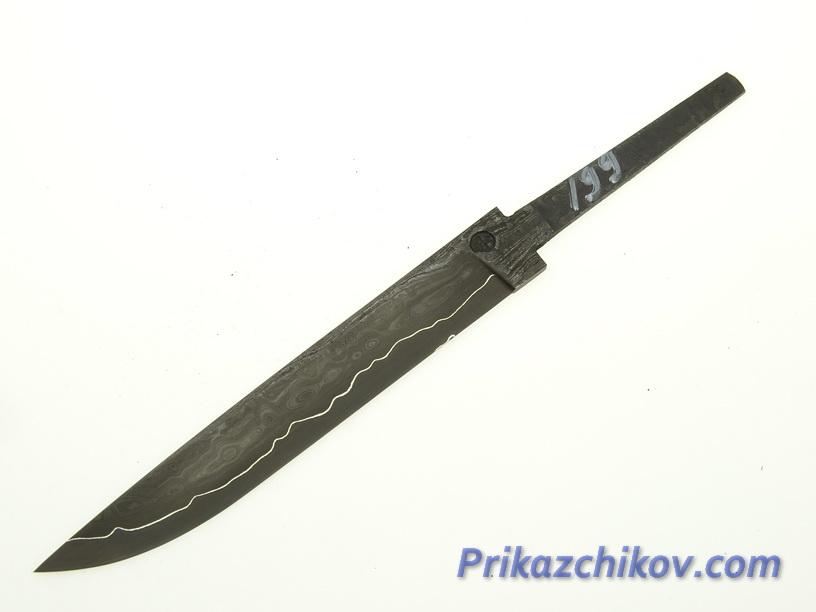 Клинок для ножа из ламинированной стали N 199