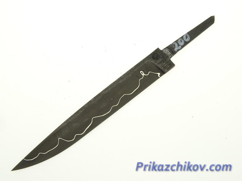 Клинок для ножа из ламинированной стали N 200
